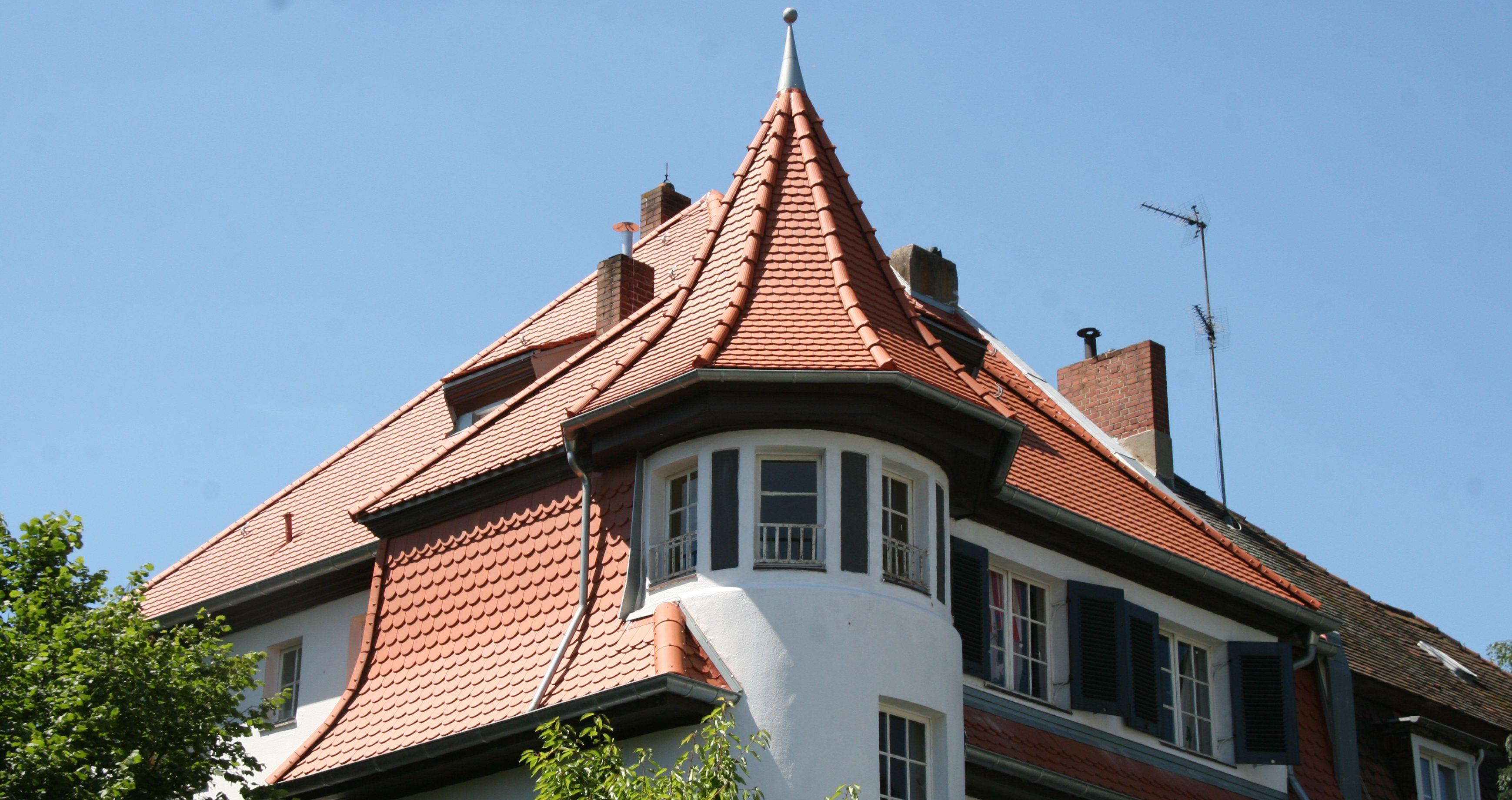 Dachziegel Biber Form