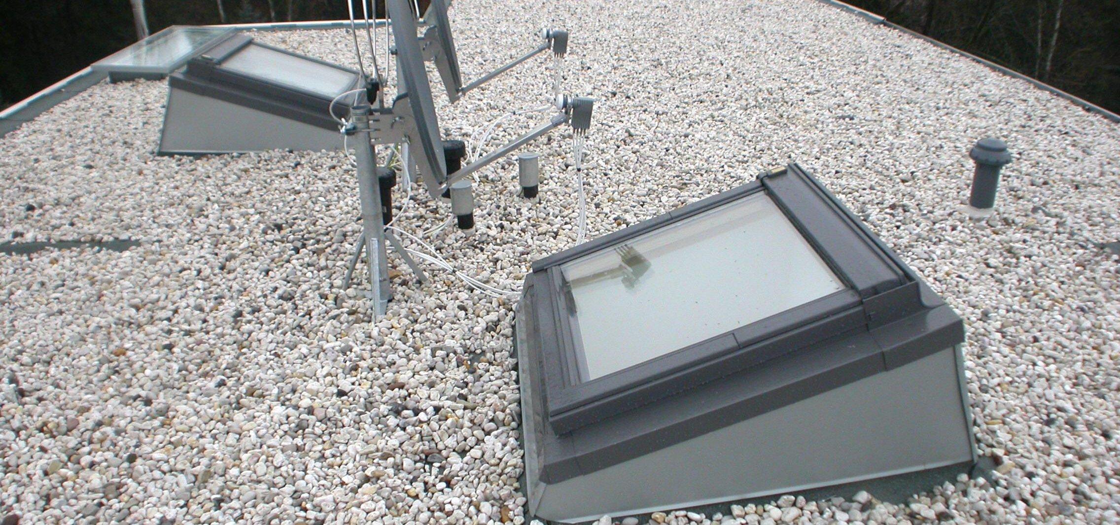 Veluxfenster im Flachdach